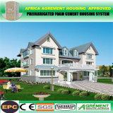 HOME Prefab embalada lisa do jogo da casa pré-fabricada clara da construção de aço