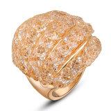 Het hete Ontwerp van de Ring van de Vinger van de Juwelen van de Manier van de Dames van de Verkoop Gouden voor Vrouwen met Prijs