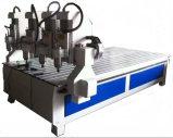 Машина маршрутизатора CNC 4 осей деревянная высекая для роторной гравировки