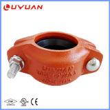 Ferro duttile scanalato riducendo il morsetto di tubo con FM/UL approvato