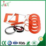 Gaxeta da borracha de silicone de EPDM Nr para tipos das máquinas