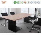 L-förmiger Melamin-Büro-Schreibtisch mit seitlichem Tisch/Executivmelamin-Büro-Schreibtisch