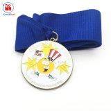 Servizio corrente della medaglia del randello del metallo arancione dei trofei del premio