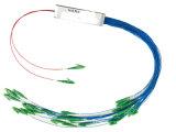1* 32 Tubo de acero de PLC Splitter de fibra óptica monomodo.