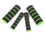 Pinse di manubrio di gomma molli di riciclaggio della spugna antiscorrimento della gomma piuma per la bicicletta della bici