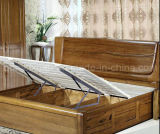 Твердые деревянные кровати современные кровати (M-X2834)
