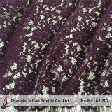 Baumwollblumen-Spitze-Gewebe für Hochzeits-Kleider (M2162-MG)