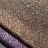 Vereiteltes heißes stempelndes synthetischer PUfaux-ledernes färbendes Schuh-Gewebe