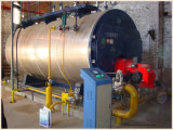 Упакованный боилер пара дымогарной труба пропуска 4t/H 3 влажный задний