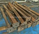 Ossatura muraria prefabbricata chiara mobile della Camera della struttura d'acciaio