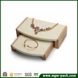 Soporte de visualización de madera de la joyería del almacenaje de la alta calidad