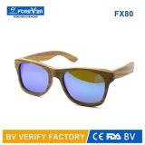 Natural polarizzato Handmade Wooden Bamboo Sunglasses con Customer Brand