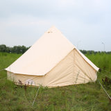 5 Meter-Größen-im Freien kampierendes Segeltuch-Rundzelt für Glamping