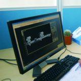 Le double découpage principal de commande numérique par ordinateur a vu pour Windows en aluminium