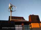 Projeto do gerador de vento do telhado 1kw Maglev e do painel solar