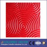 Ayant une incidence sur les performances en relief décoratifs en bois 3D Carte d'onde