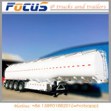 6 compartiments à bas prix 45000L Pétrolier semi remorque de camion