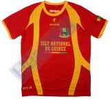 Uniformes baratos impresos sublimación de encargo del balompié de Digitaces de la ropa de deportes de Healong