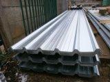 Strato d'acciaio ondulato galvanizzato del tetto per costruzione