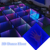 3D Magic LED Pista de baile para la iluminación de DJ Eventos