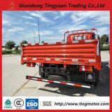 6車輪のSinotruk HOWOの軽トラックの貨物トラック