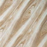 U laminado de superfície de cristal ranhuradas / piso laminado