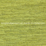 Incendio/Urdimbre verde de poliéster ignífugo ignífugo de tela de cortina