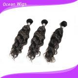 Tissage 100% non-traité de bonne qualité de cheveux de vague d'Espagnol de Filipno de Vierge de la catégorie 8A (w-114)