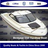 Snelheid 550 de Hardtop van de Boot van de Cabine voor Visserij