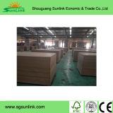 MDF de alta densidad del llano para los muebles