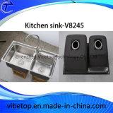 Профессиональных производителей нержавеющей стали кухонные раковину (KS8445)