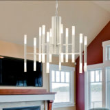 Linda lâmpada de lâmpada pingente LED de 30 lâmpadas modernas para o hotel
