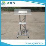 Os novos estilos de material acrílico púlpito pódios e Smart pódio