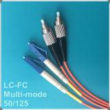 FC-LCのパソコンOm2のマルチモード・ファイバの視覚のパッチ・コード