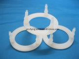 Rondelles plates cylindrique antipoussière résistantes de joint en caoutchouc de silicones de température élevée pour des pièces de machine