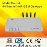 4 canales GSM Gateway VoIP con tarjeta de 4 SIM GoIP4