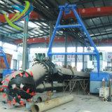 중국 18 인치 판매를 위한 유압 모래 또는 진흙 바다 절단기 흡입 준설선