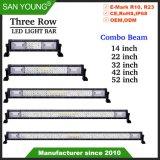 3 rangées Offroad barre lumineuse à LED Offroad Projecteur LED en barre Spotlight