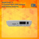 1つのポートの固定無線電信GSMのゲートウェイ(GoIP)