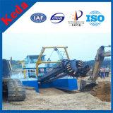 Dredger d'aspiration du coupe-haut rendement pour la mine de sable de rivière