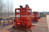 Bloco concreto estacionário do cimento de Qtj4-40small que faz a máquina em África India