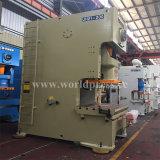 Jh21 máquina aluída da imprensa de perfurador mecânico do frame da série C única com uma potência de 400 toneladas