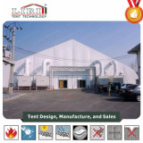 Curve Tent on Hot of halls for Wedding party Event with Special Designed Curve Shape