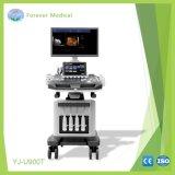 4D haut de gamme Chariot à ultrasons à ultrasons Doppler couleur
