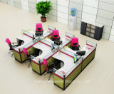 Un design moderne Work-Station droites avec 6 sièges (personne YZQ HF520)