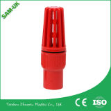 Material plástico Válvula de esfera de PVC para abastecimento de água