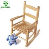 Projeto de madeira da cadeira de balanço da mobília dos miúdos