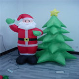 قابل للنفخ عيد ميلاد المسيح زخرفة شجرة