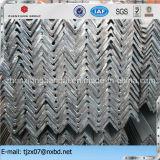 Barra de ángulo de acero, hierro de Ange, pedazo del ángulo del acero suave en el grado A36, Ss400, S235jr, St37-2, Q235, Q195, S275jr, Q345