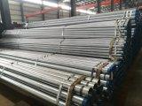 Prezzo di fabbrica galvanizzato di figura rotonda del tubo d'acciaio